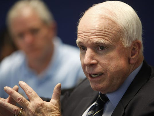 McCain's hollow ode to human rights