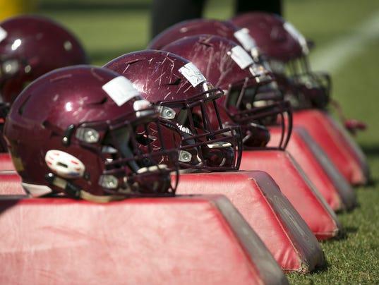 ASU football Spring practice