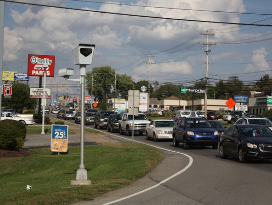 Cpd red light camera program about safety not money for Target clarksville tn