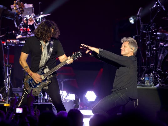 Review A Legacy Sustained By Bon Jovi At The Basie