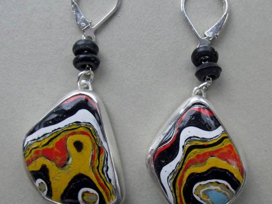 Anne Rob makes hand-crafted jewelry.