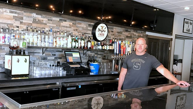Mark Nickerson co-owns the new Nick's Pub and Grille in Horseheads along with his brother Mike.