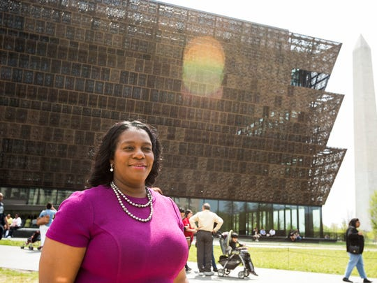 Tammy Boyd, a native of Jackson, Miss.,  talks about the National Museum of African American History and Culture as it celebrates six months since it opened.  Boyd, a former legislative director for Rep. John Lewis, helped usher through two bills to build the museum.