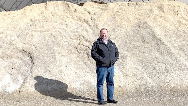 John Lindsey, manager of the St. Joseph County Road Commission, said the agency has about 6,000 tons of a sand/salt mix on hand and is ready for winter.
