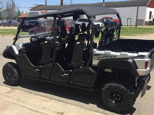 Sanilac County sheriff deputies recovered this ATV and are looking for the person who stole and abandoned it.