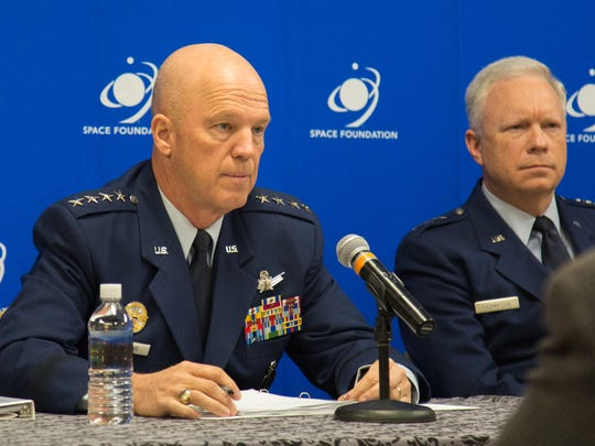 Gen. John Raymond, commander of Air Force Space Command,