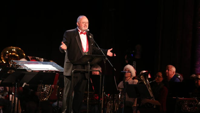 John Skelton will conduct Tuba Holiday, organized by the Salem Concert Band, noon Dec. 24 at the Historic Elsinore Theatre.