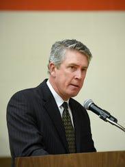 Technical High School principal Charlie Eisenreich