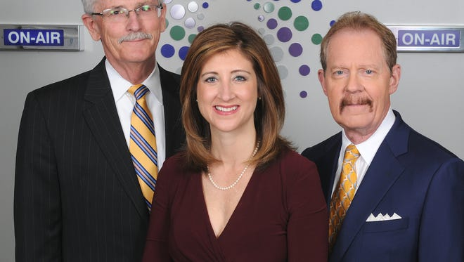 Simply Money's Ed Finke, Amy Wagner, and Nathan Bachrach.