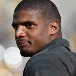 NFL rookie Michael Sam was not among the 10 players signed to the St. Louis Rams practice squad. The Rams drafted Sam in the seventh round of the NFL draft.