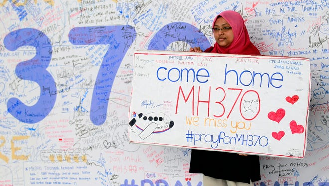 Malaysia Airlines Flight 370 has 239 people on board.
