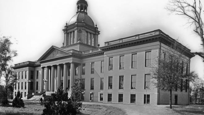The opening of the new Florida capitol in 1902 was hailed as proof the capital would never be moved from Tallahassee.