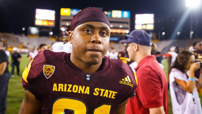 Arizona State defensive back Chad Adams.