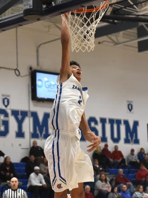 Cameron Brooks-Harris, Zanesville High School's senior standout, is catching the attention of collegiate coaches.