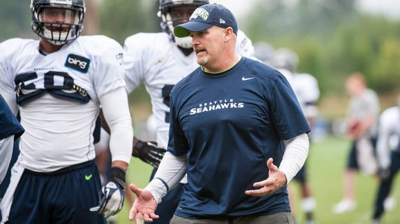 Seahawks defensive coordinator Dan Quinn, a Morristown
