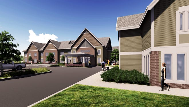 Rendering of the expansion of Ronald McDonald House.