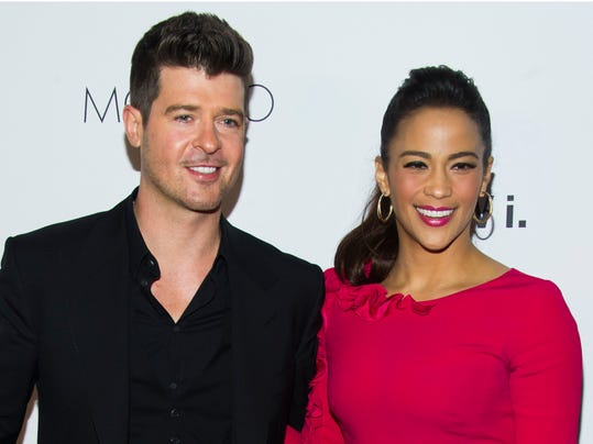 People-Paula Patton-Robin Thicke