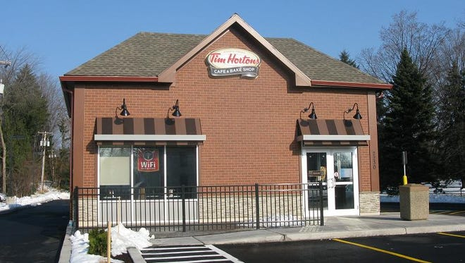 The new Tim Hortons at 2230 Penfield Road.