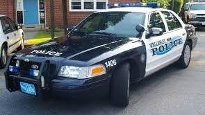Wellesley police cruiser.