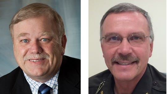 Gary Leichtman and Greg Herrick are candidates in the Clark County primary election Aug. 12