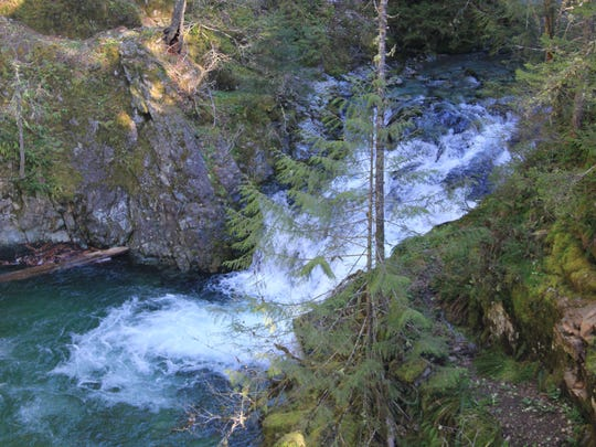 The effort to protect places like Opal Pool in the Opal Creek Wilderness was spearheaded in part by George Atiyeh, who is in critical condition after his small plane crashed Wednesday.