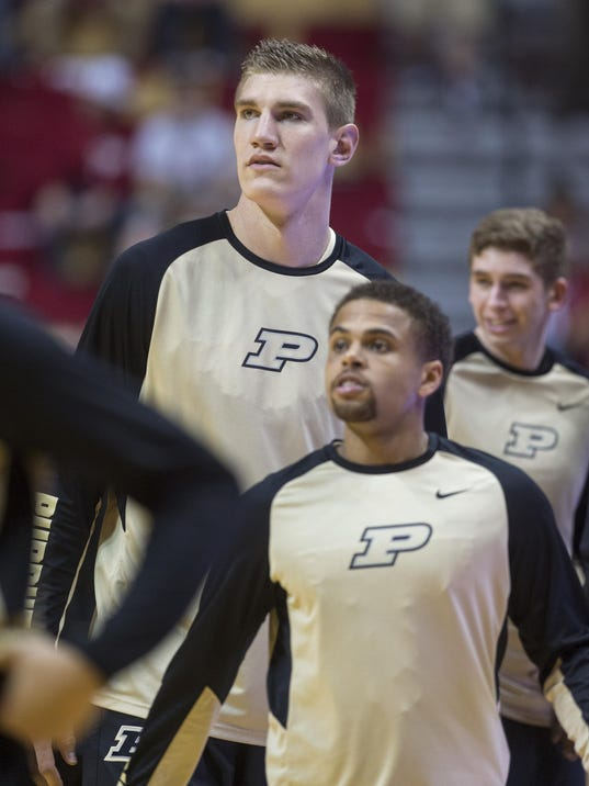 Purdue's Isaac Haas mature enough to help Boilers