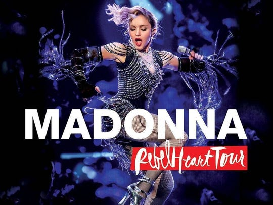 """""""Rebel Heart Tour"""" by Madonna"""