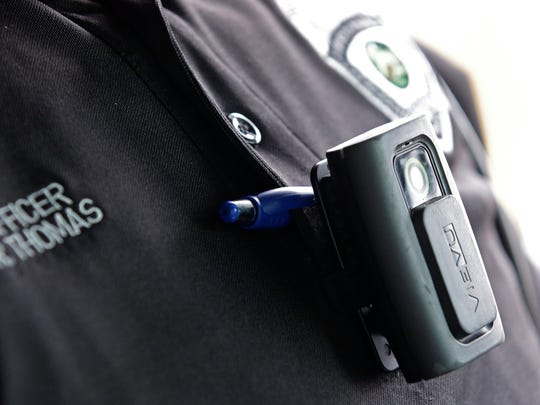 Nashville leaders are discussing the costs of operating police body cameras.
