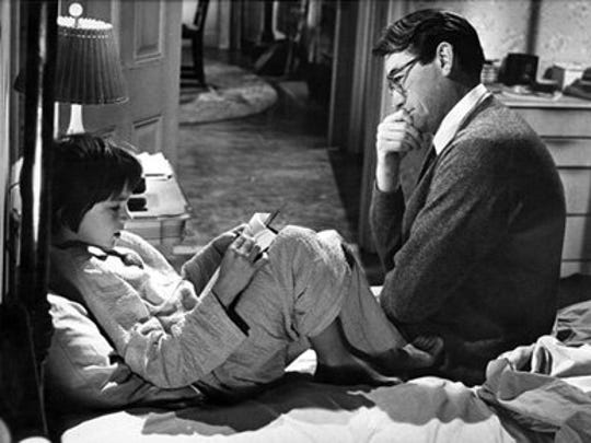 """""""Go Set a Watchman"""" catches up with Scout (here played by Mary Badham, in the 1962 movie starring Gregory Peck) as an adult."""