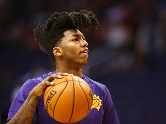 The Suns acquired Elfrid Payton in a trade with the Magic last season.
