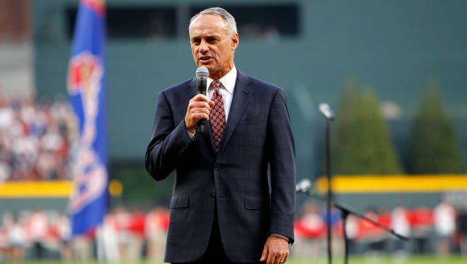 MLB Commissioner Rob Manfred said that all 30 teams are being surveyed about how they handle situations such as those that transpired at Fenway.