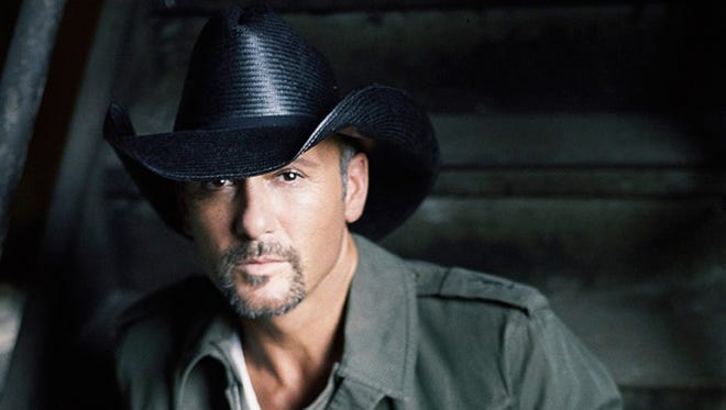 """5/16: Tim McGraw: The country singer brings his Sundown Heaven Tour to Phoenix on Friday, May 16, for a concert at Ak-Chin Pavilion with """"The Voice"""" winner Cassadee Pope in the opening slot. Tickets are $29.75-$69.75, on sale now at livenation.com, ticketmaster.com, all Ticketmaster locations and 800-745-3000."""