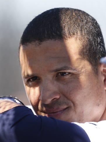 Tigers designated hitter Victor Martinez