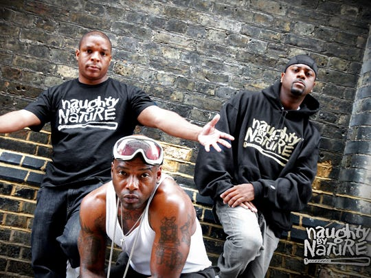 Jersey's finest: Naughty by Nature.