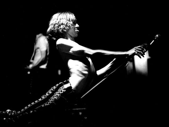 The Stooges with Iggy Popp performed at the Grande Ballroom in 1968.