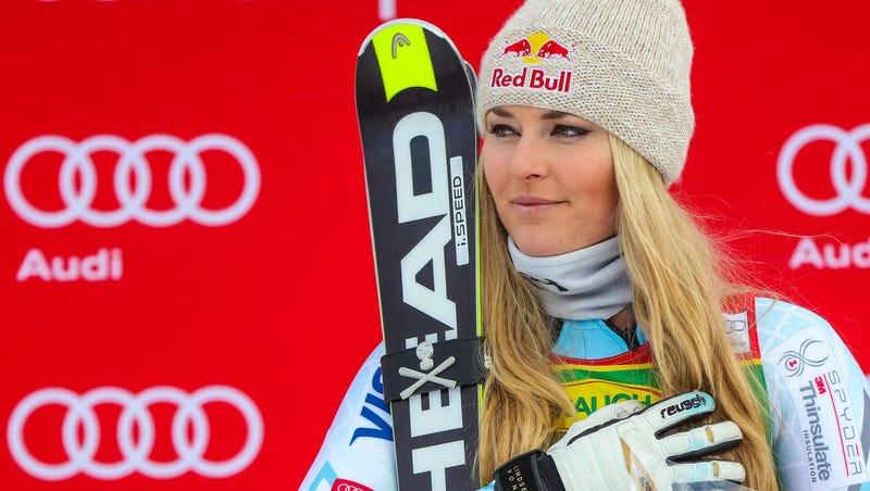Lindsey vonn nackt auf ski