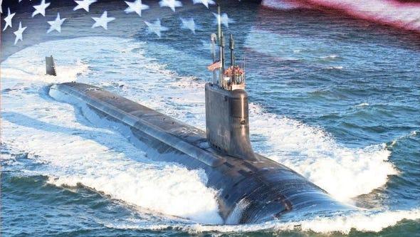 USS South Dakota rendering