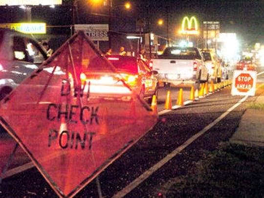 OWI checkpoint scheduled for Friday night
