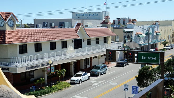This 2015 photo was taken from atop the Pocahontas building on the corner of 14th Avenue and 21st Street in Vero Beach.