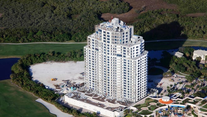 Construction of The Ronto Group's 26-floor, 120-unit Seaglass high-rise tower at Bonita Bay continues to progress as planned.