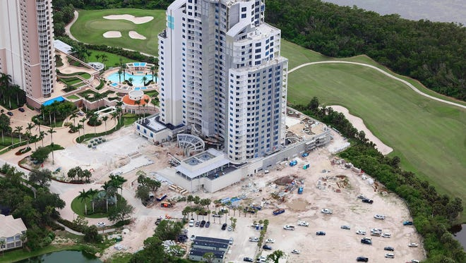 Robb & Stucky will be furnishing two move-in ready residences at Seaglass, a 26-floor high-rise tower being built by The Ronto Group within Bonita Bay.