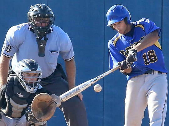 New Berlin West's Allan Peil delivered clutch hit after clutch hit en route to the Vikings 2013 state title.