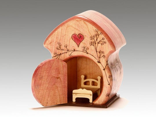 Robert_Simmons, wood, fairy houses, Ann Arbor, MI