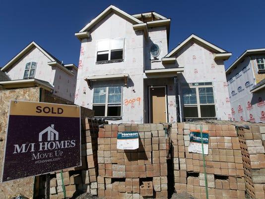 AP NEW HOME SALES F FILE A USA TX