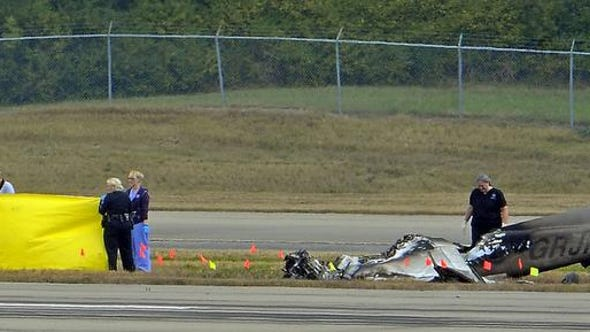 A pilot who crashed his single-engine plane at Nashville International Airport was legally drunk, according to an autopsy report.