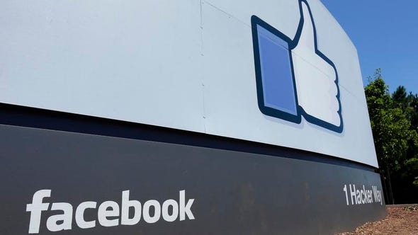 A sign seen at Facebook headquarters in Menlo Park, Calif. Nationally, businesses and organizations seem worried about employees wasting company time on the Internet, but major employers in northeastern Louisiana report an acceptance of cyberloafing.