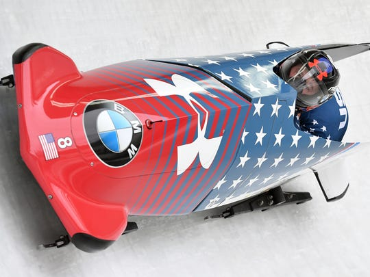 In this Feb. 4, 2017, file photo, Steven Holcomb and