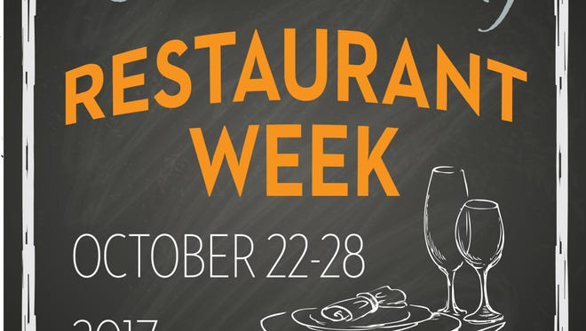 2017 Lebanon County Restaurant Week logo