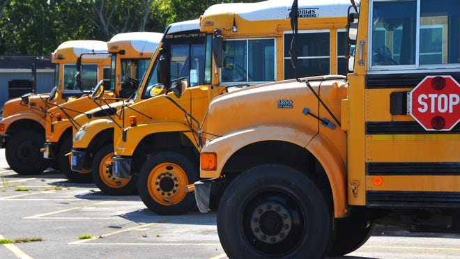 """Three hundred and sixty school buses hit the road Aug. 10, getting Brevard Public Schools students to their first day of classes. The district is not required to provide transportation for 3,355 students in """"choice schools."""""""