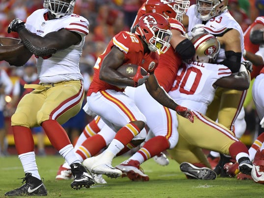 As Chiefs await MRI results, Reid says Ware's injury not 'clear-cut end of season'